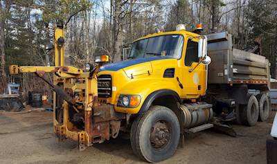 2007 Mack Granite CV713 Dump Truck
