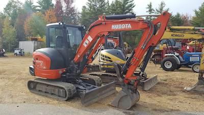 2013 Kubota KX040-4 Mini Excavator