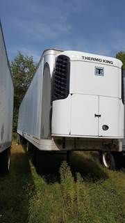 2003 Wabash 14' TALL ROLL DOOR REEFER WITH THERMO KING Reefer Trailer