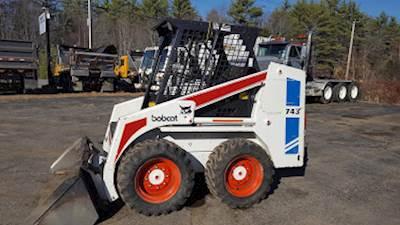 1993 Bobcat 743B Skid Steer