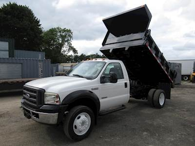 F450 Dump Truck For Sale >> 2005 Ford F 450 Single Axle Dump Truck 6 0l V8 325hp Automatic