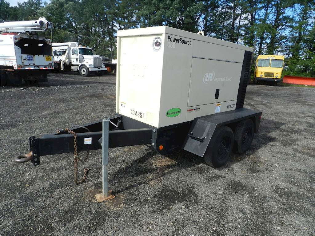 2007 Ingersoll-Rand G60 Generator For Sale | Ronkonkoma, NY | CRB55 |  MyLittleSalesman com