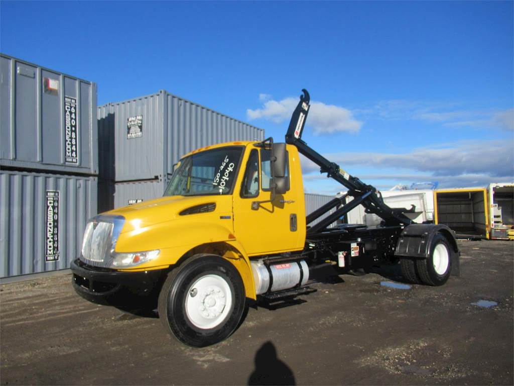 Marvelous 2013 International 4300 Single Axle Hooklift Truck Mf 7 6L Automatic For Sale 150 828 Miles Ronkonkoma Ny 104040 Mylittlesalesman Com Theyellowbook Wood Chair Design Ideas Theyellowbookinfo
