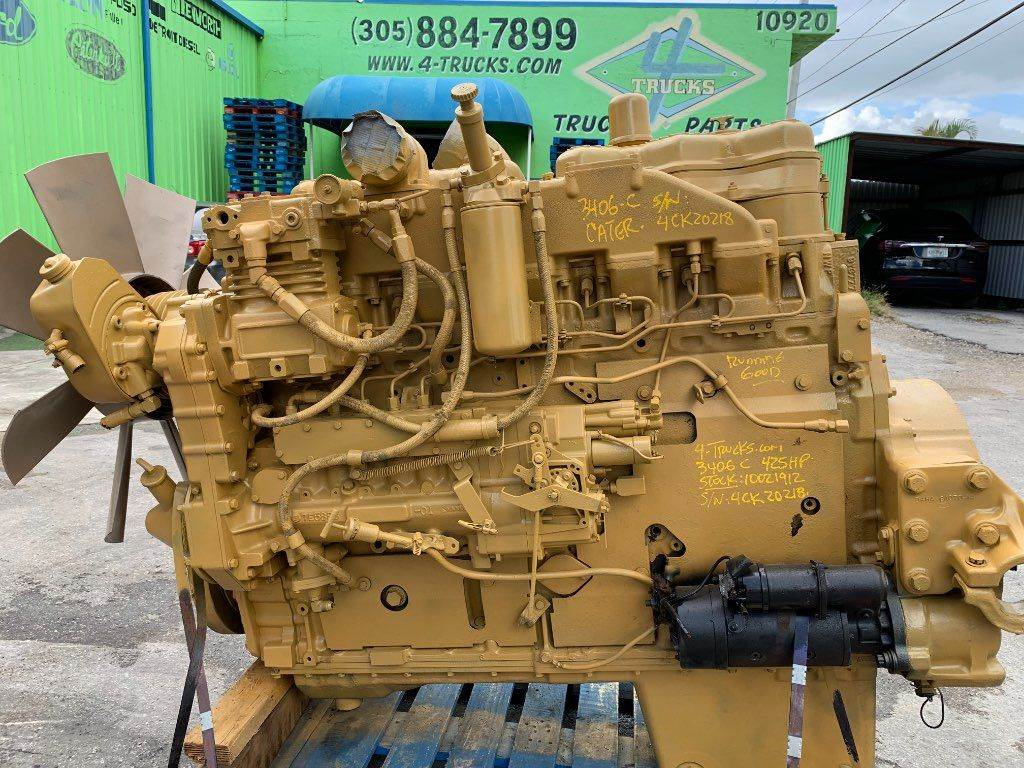 1995 Caterpillar 3406c Engine For Sale