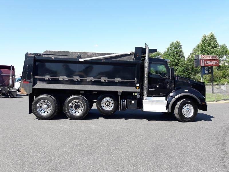 2015 Kenworth T880 Tri Axle Dump Truck - Cummins ISX15 ...Kenworth Tri Axle Dump Trucks For Sale In Pa