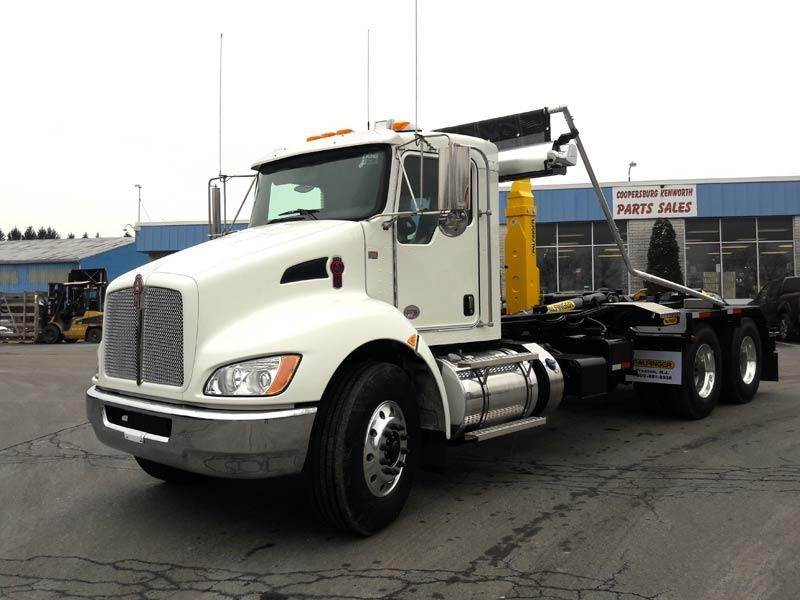 2020 Kenworth T370 Tandem Axle Hooklift Truck - Paccar PX, 350HP, Automatic  For Sale | Swedesboro, NJ | 376855 | MyLittleSalesman com
