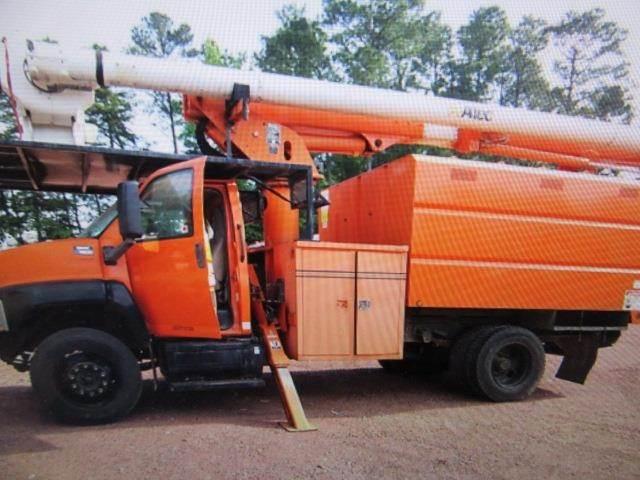 2006 GMC 7500 Boom / Bucket Truck - Altec LRV55 Aerial Lift For Sale    Jonesboro, GA   FT6F423316   MyLittleSalesman com