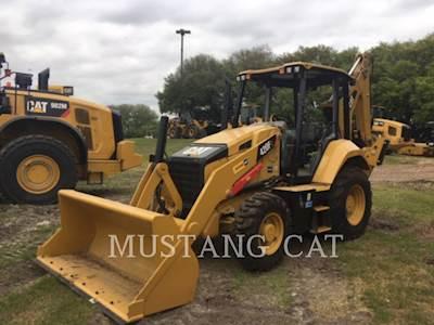 2018 Caterpillar 420F2 4SOR Backhoe