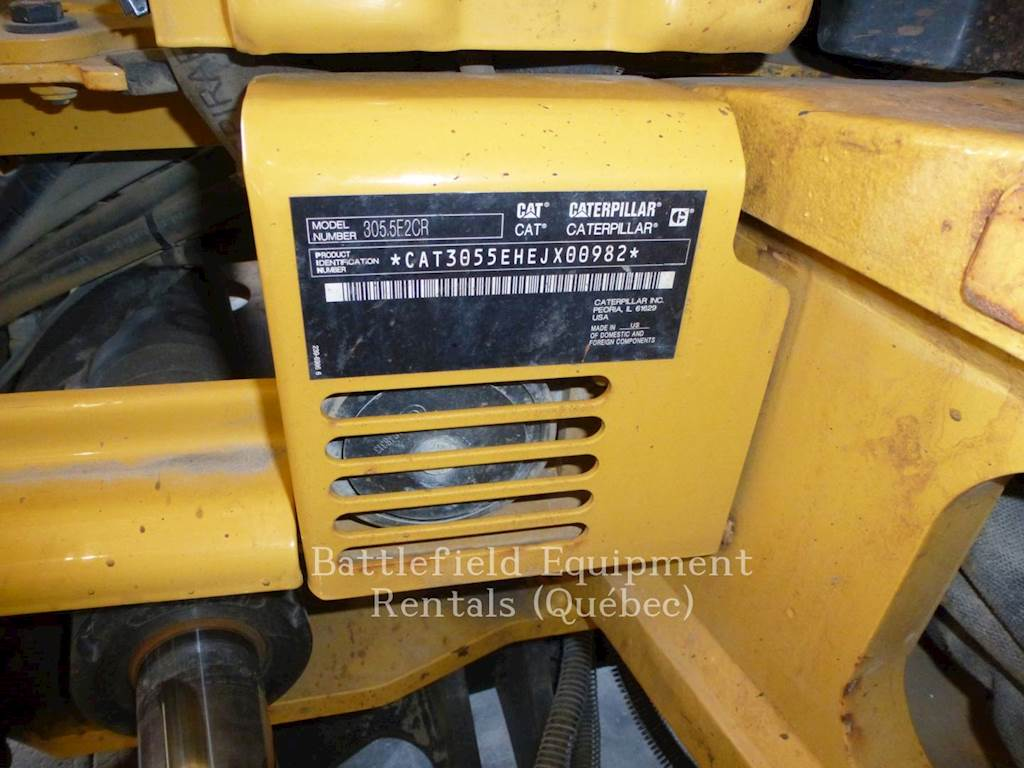 2015 Caterpillar 305 5E2 CR Mini Hydraulic Excavator