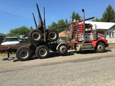 1997 Kenworth T800 Logging Truck