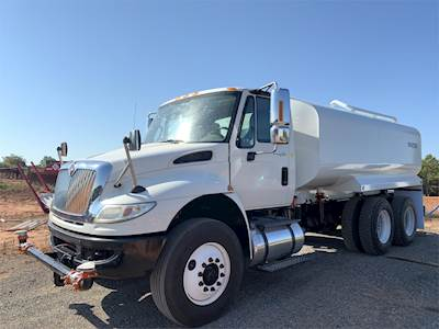 2012 International 4400 Tandem Axle Water Truck - MFDT, 285HP, Automatic