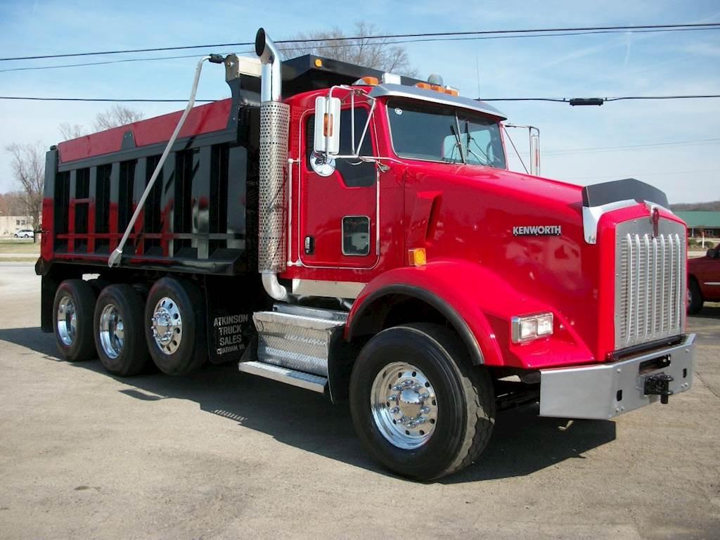 2010 Kenworth T800 Tri Axle Dump Truck - Cummins ISM ...Kenworth Tri Axle Dump Trucks For Sale In Pa