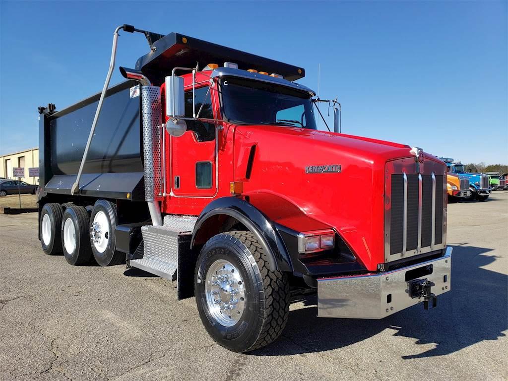 2017 Kenworth T800 Tri Axle Dump Truck - Cummins 450HP ...Kenworth Tri Axle Dump Trucks For Sale In Pa