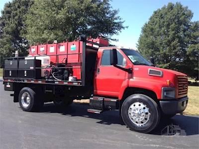 2005 Chevrolet Kodiak C7500 Single Axle Fuel & Lube Truck - Caterpillar  C-7, Automatic