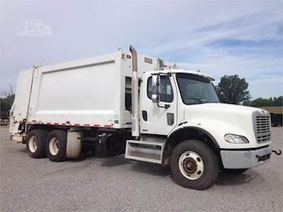 2010 Freightliner M2 112 Tandem Axle Garbage Truck - Caterpillar C-13,  380HP, Automatic