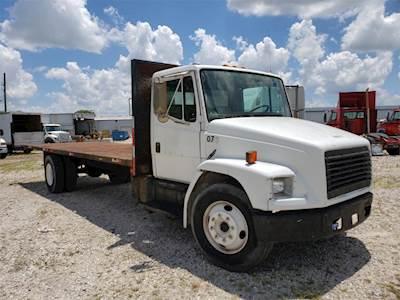 Flatbed Truck For Sale >> 2000 Freightliner Fl60 Flatbed Truck