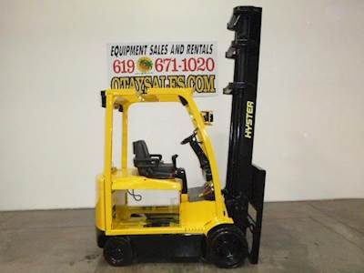 Clark GCX25 Cushion Tire Forklift For Sale | San Diego, CA