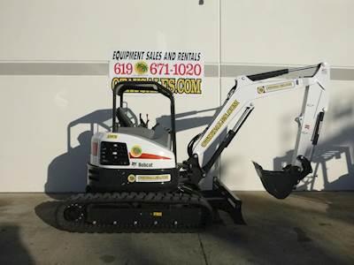 2019 Bobcat E45 Compact Excavator