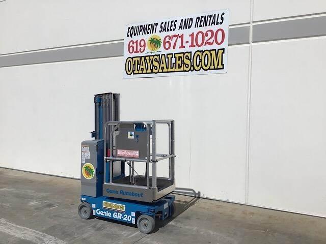 2019 Genie GR20 20' Electric Single Manlift