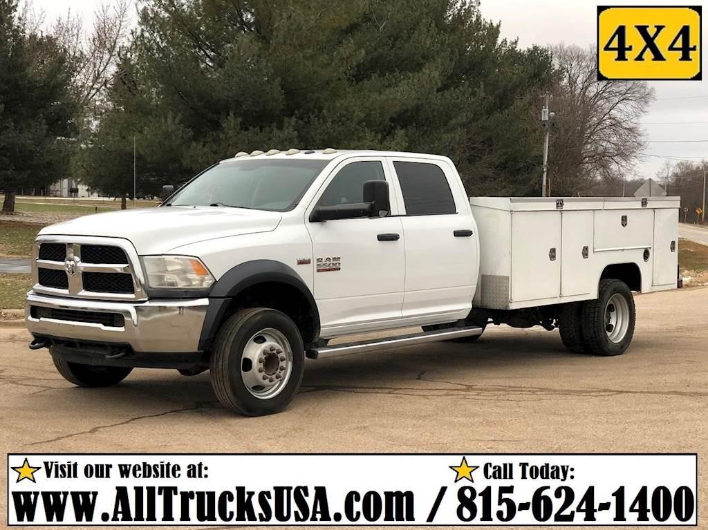 2014 Ram 5500 Flatbed Truck Liftgate For Sale 89 122 Miles Rockton Il 323787 Mylittlesalesman Com
