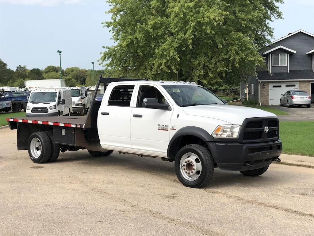 2018 Ram 5500 Flatbed Truck Automatic For Sale 169 028 Miles Rockton Il 113804 Mylittlesalesman Com