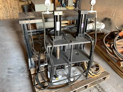 Paul Monroe Hydraulic Press Components 1 GPM 800 PSI Manufacturing Equipment