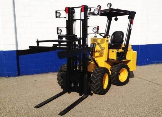 2020 Hummerbee Turbo Ii Rough Terrain Forklift For Sale Denver Mi Special Order Mylittlesalesman Com