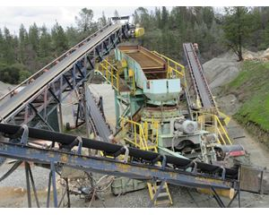 "Kue-Ken Complete Crushing & Screening Plant 25"" x 24"" Jaw; 51"" Standard Cone, Screen, CAT Generator Aggregate / Mining Equipment"