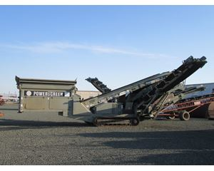 Powerscreen Turbo Chieftain 1400 Track Mounted Screening Plant, Aggregate / Mining Equipment