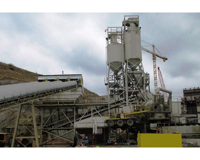 Concrete Production Plant : Con e co model paverportable duel drum cubic yard
