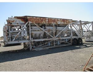 Erie Strayer MG11C 12 Cubic Yard Mobile Gravity Central Mix Concrete Production Plant
