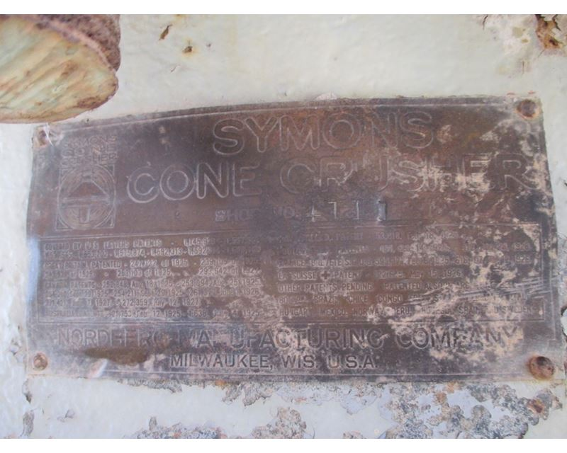 symons cone crusher instruction manual