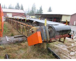 "Goodfellow 36"" wide x 100' long Conveyor / Stacker"