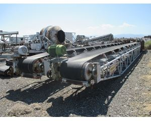 "Marco (3) - Three 30"" wide x 60' long Truss Frame Conveyor / Stacker"