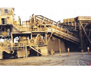Fuller-Traylor Model 42-70 Type TCB Gyratory Crusher Gyratory Crusher