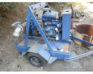 """John Deere 6"""" x 6"""" Self Priming, Portable, Diesel Powered Water Pump"""