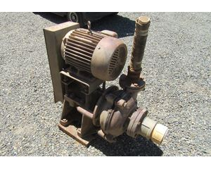 "1985 Warman Pump 3"" x 4"" Rubber Lined Horizontal Sand Pump"