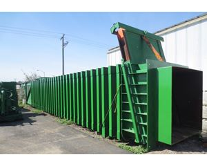 AMFAB - Harris Waste TransPAK High Volume Transfer Station Compaction System Recycling Equipment