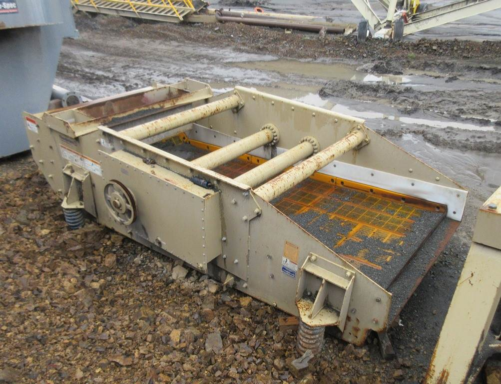 2015 – 6' wide x 14' long Single Deck Hi-Frequency Dewatering Vibrating  Screen - AMI Thunderbird For Sale | Olivehurst, CA | 9750627 |