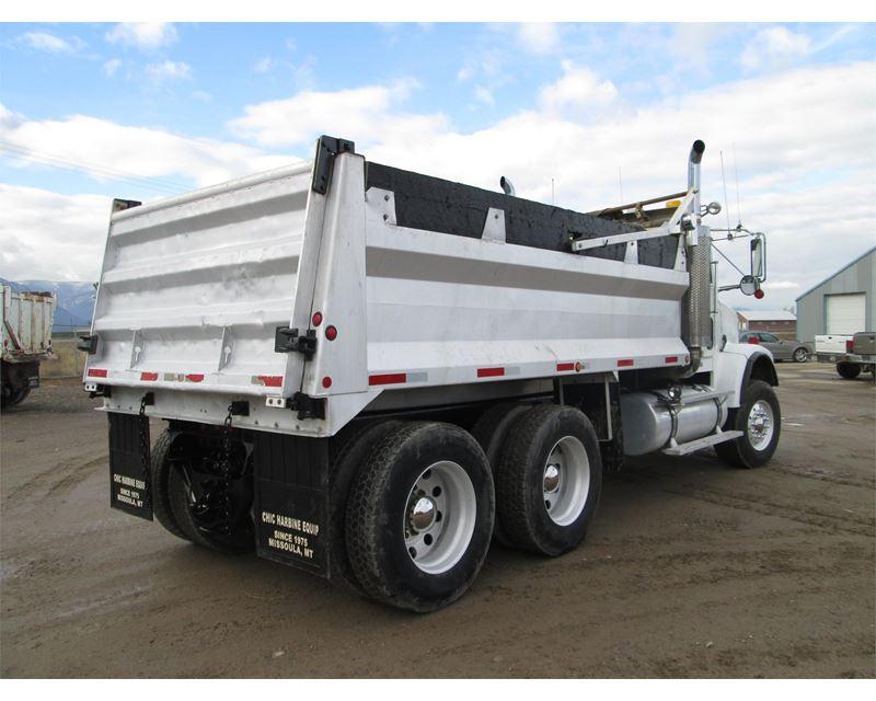2006 freightliner fld12042sd heavy duty dump truck for sale missoula mt. Black Bedroom Furniture Sets. Home Design Ideas