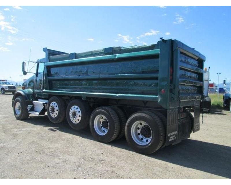 1999 kenworth t800b heavy duty dump truck for sale missoula mt. Black Bedroom Furniture Sets. Home Design Ideas