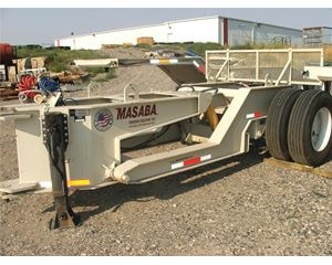 Masaba Booster Tag Axle Aggregate / Mining Equipment