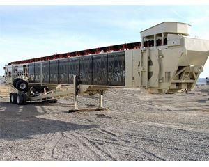 Superior TELESTACKER 36x150 Conveyor / Stacker