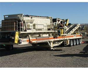 Metso HP300 Crushing Plant