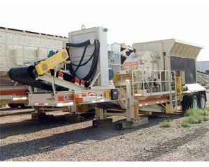Metso NP1007 Crushing Plant