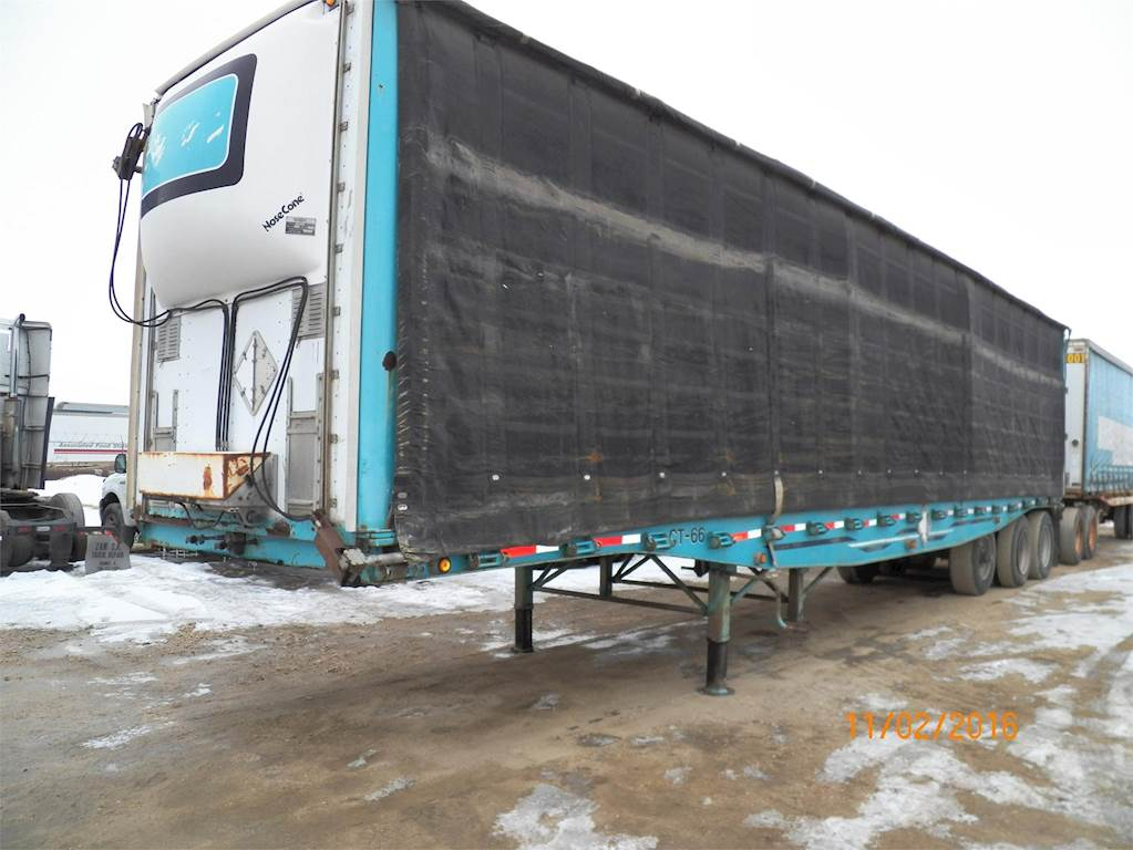 1988 WESTERN Curtain Side Trailer For Sale