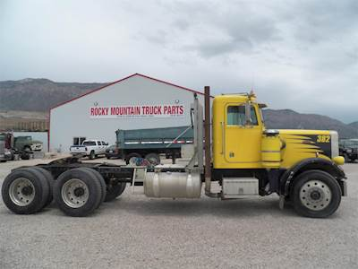 1982 Peterbilt 379 Day Cab Semi Truck