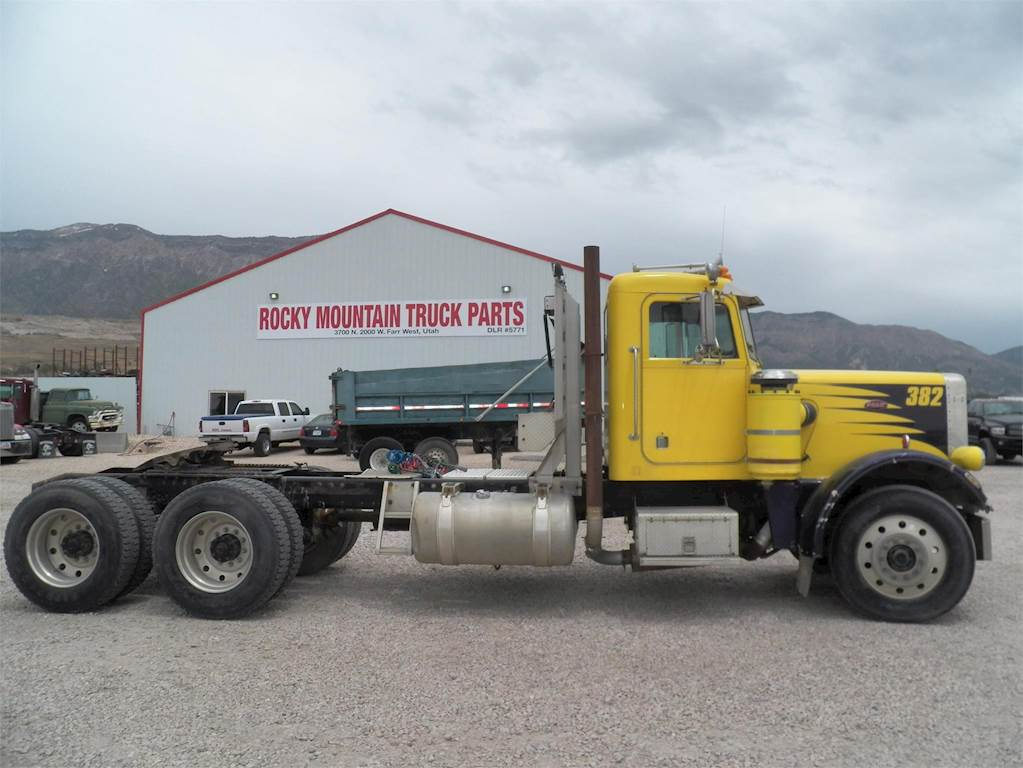 1982 Peterbilt 379 Day Cab Semi Truck For Sale Ogden Ut