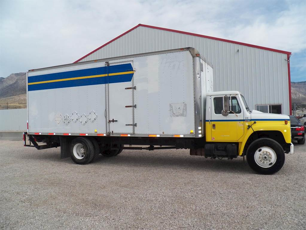 Truck Box For Sale >> 1989 International S1900 Box Truck For Sale 215 110 Miles Ogden Ut 671720 Int Mylittlesalesman Com