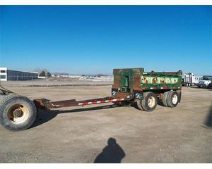 Truckweld End Dump Semi Trailer